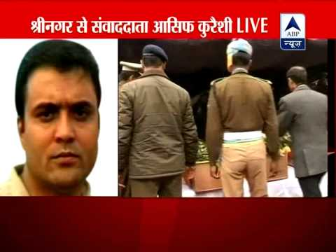 Omar Abdullah pays tribute to martyr CRPF soldiers