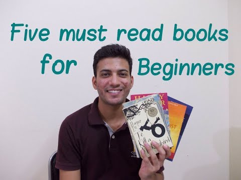 Five Must Read Books| For beginners| Easy Reading Novels