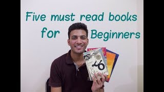 Five Must Read Books  For beginners  Easy Reading Novels