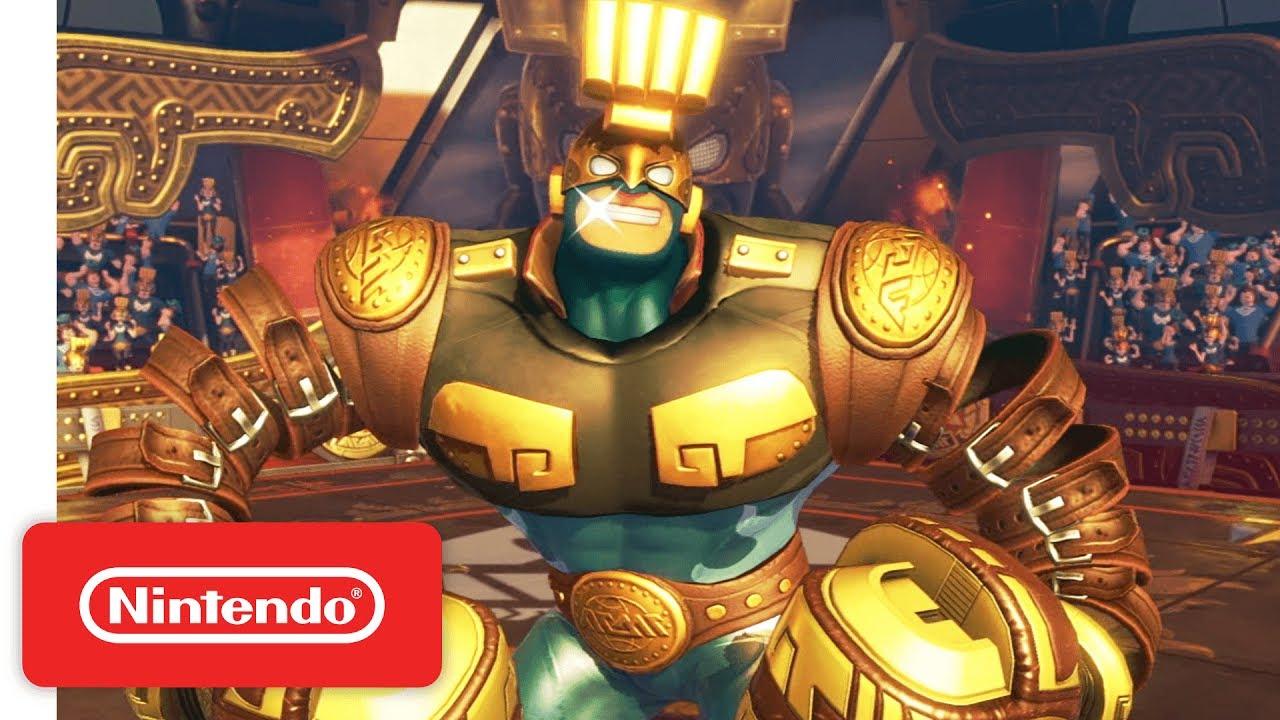 ARMS - Demonstration & DLC - Nintendo E3 2017 - YouTube