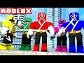 POWER RANGERS IN ROBLOX! (Roblox Power Rangers Movie)