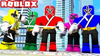 POWER RANGERS IN ROBLOX! (Roblox Power Rangers Film)