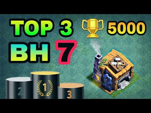 Thumbnail: TOP 3 BEST BUILDER HALL 7 BASE W/ REPLAY PROOF | COC BH7 BEST BASE LAYOUTS | CLASH OF CLANS