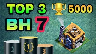 TOP 3 BEST BUILDER HALL 7 BASE W/ REPLAY PROOF | COC BH7 BEST BASE LAYOUTS | CLASH OF CLANS