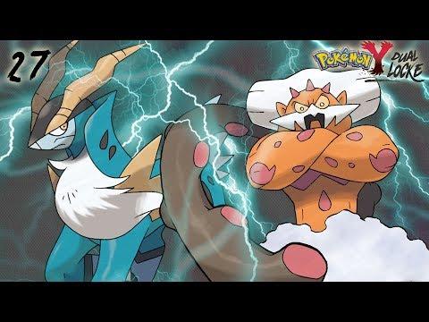Pokémon Y DualLocke Ep.27 - CON UN PAR DE... LEGENDARIOS AL GIMNASIO