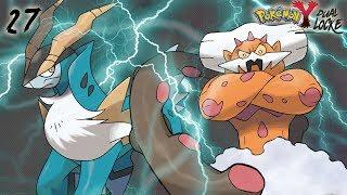Video de Pokémon Y DualLocke Ep.27 - CON UN PAR DE... LEGENDARIOS AL GIMNASIO