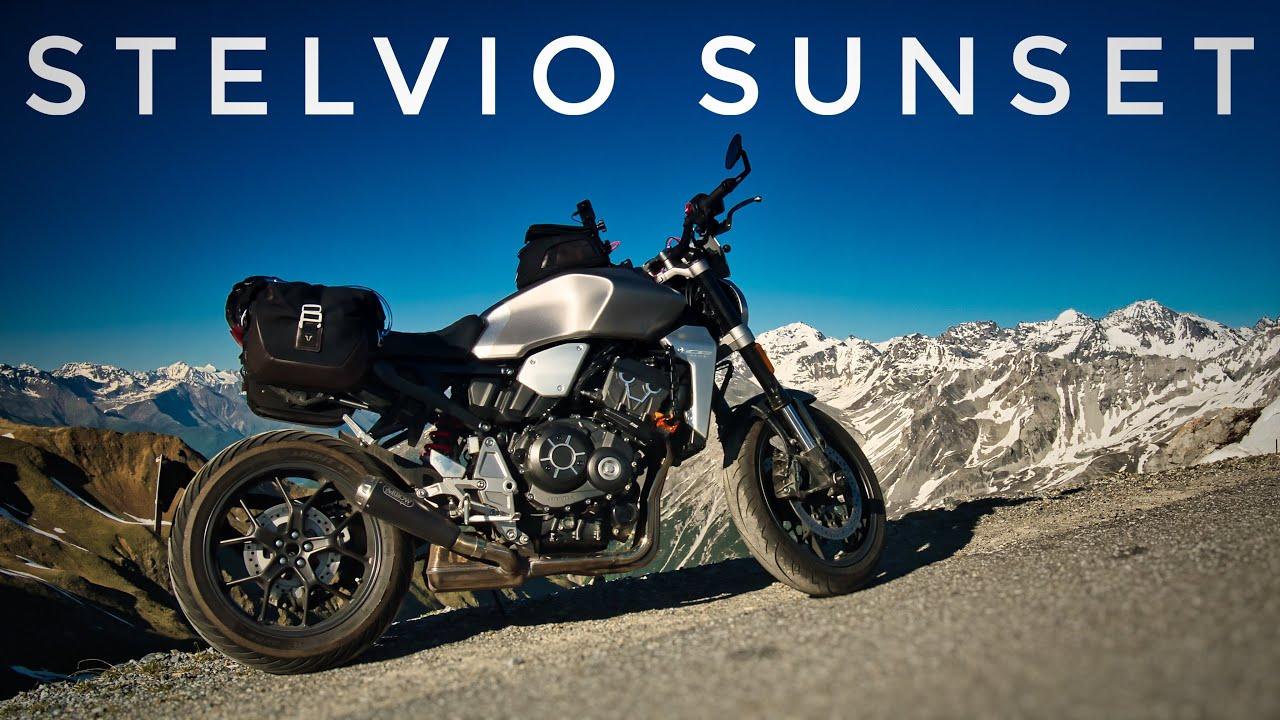 Stelvio Sunset - CB1000R Neo Sports Café