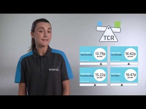 Tariff Comparison Rate - British Gas