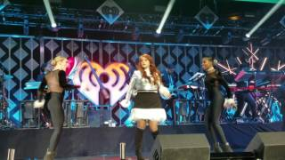 Meghan Trainor at the iHeart Radio Jingle Ball pt1