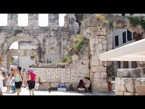 Split- Pałac Dioklecjana ♪ Splitska serenada-Goran Karan