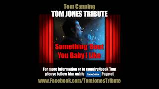 Tom Jones Tribute - Tom Canning singing Something Bout You Baby I Like