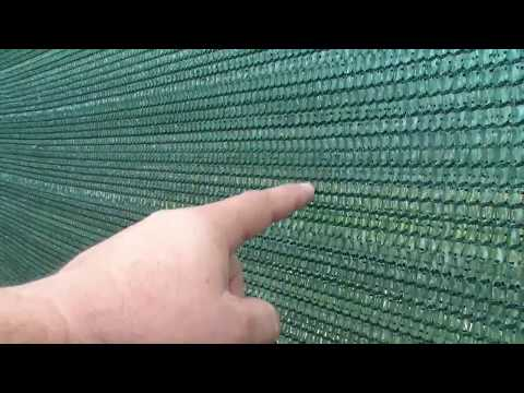 Фасадная сетка для забора на даче: общие сведения и нюансы использования