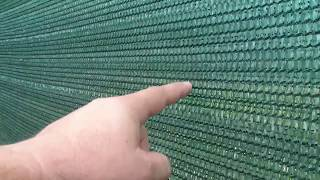 видео Ограждение участка, забор