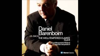 Daniel Barenboim -  No.19 in A major BWV 888 Prelude (J.S.BACH)
