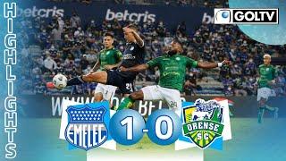 Emelec 1 - 0 Orense SC | GOLES | Liga Pro Ecuador