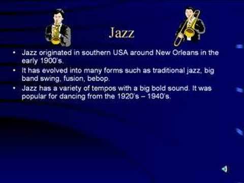 Jazz Music Genre