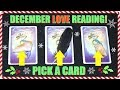 PICK A CARD & SEE WHAT'S COMING IN LOVE FOR YOU IN DECEMBER 2018! │ WEEKLY TAROT READING