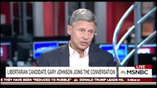 """""""What Is Aleppo?"""" Libertarian Candidate Gary Johnson Stumped By Syria Question thumbnail"""