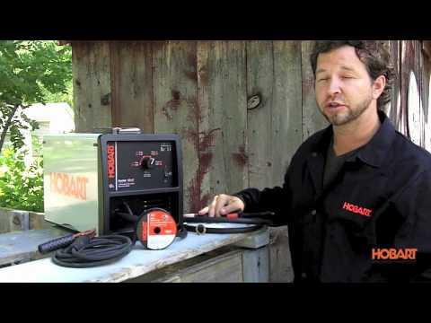 Hobart Handler 125 EZ Welder - YouTube