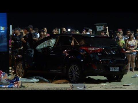 Brésil: accident de voiture à Copacabana, 11 blessés
