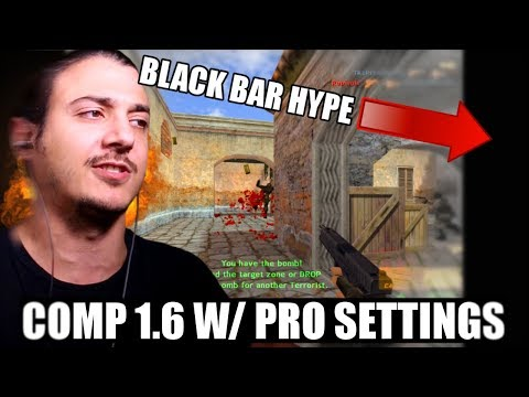 COMP CS 1.6... ON PRO SETTINGS!!! 800x600 RESOLUTION?!? (Funny Moments)