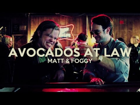 avocados at law ♥ | matt & foggy [rac]