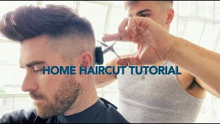 HOME HAIRCUT TUTORIAL DURING COVID-19 PANDEMIC