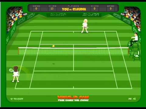Tennis Ace At Www.deadfingergames.com