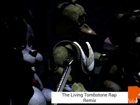 The living tombstone fnaf rap remix youtube