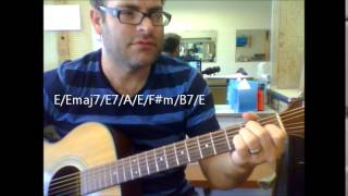 "How to play ""Another Somebody Done Somebody Wrong by B.J. Thomas on acoustic guitar"