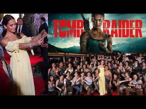 Alicia Vikander - Premiere Tomb Raider en México (2/3)