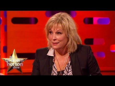 Jennifer Saunders Finds Her Baby Under the Duvet - The Graham Norton Show