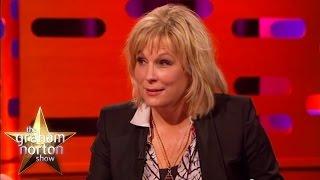 Jennifer Saunders Finds Her Baby Under the Duvet - The Graham Norton Show