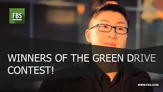 Inside the Forex World. Winners of the Green Drive Contest!