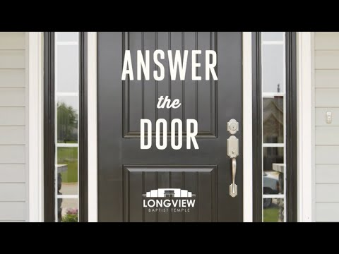 Answer The Door - Sunday Morning Service 2/18/17 - Pastor Bob Gray II