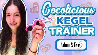 Cocolicious Kegel Trainer | Using Ben Wa Balls For Pelvic Exercises | Kegel Balls Review