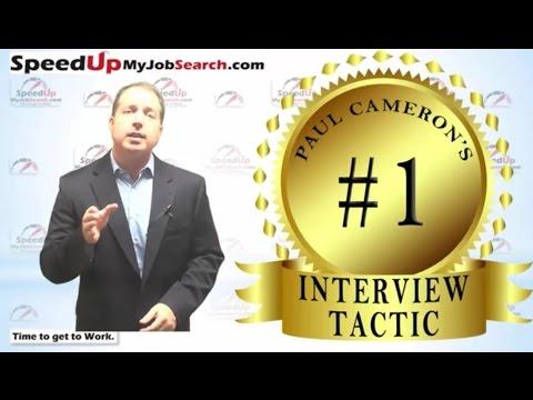 Paul Cameron's #1 Favorite Interview Tactic - 4:09