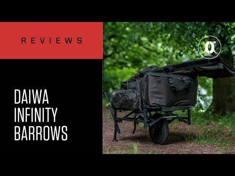CARPologyTV - Daiwa Infinity Foldloader & Freeloader Barrows Review