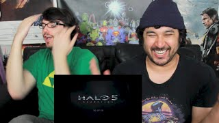 HALO 5: GUARDIANS - MASTER CHIEF AD & SPARTAN LOCKE AD REACTION & REVIEW!!!
