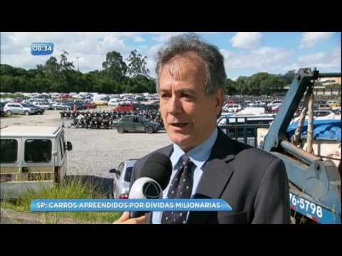 Apreendidos, veículos no pátio do Detran acumulam R$ 83 milhões em dívidas