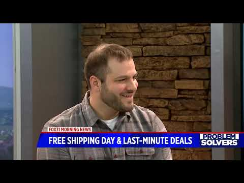 Free shipping day and last minute gift ideas