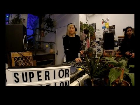 Ellen Allien presents Vinylism at Superior Elevation Records, Brooklyn NYC - 24.03.2017