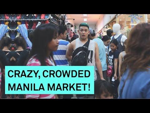 DIVISORIA: CRAZY CROWDED MANILA MARKET! - RomeAroundTheWorld Asia 2017 Day 2