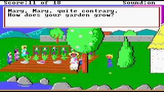Mixed Up Mother Goose (1987) (Sierra On-Line, Inc.) Part 2/3