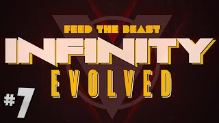 FTB Infinity Evolved - Ep.7 - Rock Crusher Ore Doubling!