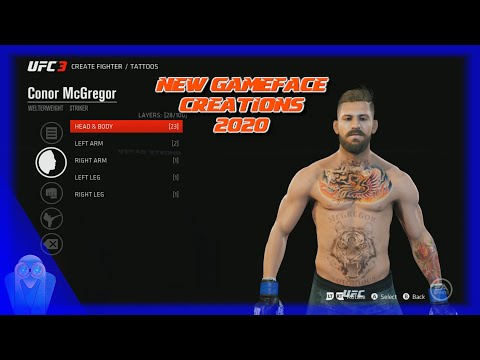 EA SPORTS Gameface Creations 2020 & Fight Preview
