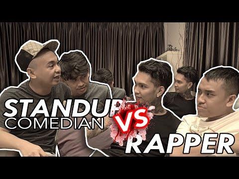 RADITYA DIKA & JEGEL NGE-ROAST YOUNG LEX ! - QnA Comic VS Rapper
