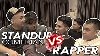 RADITYA DIKA & JEGEL NGE-ROAST YOUNG LEX ! - QnA Comic VS Rapper