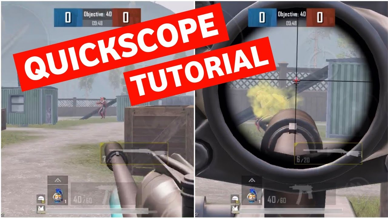Download PUBG MOBILE QUICKSCOPE TUTORIAL | LEARN THE EASIEST WAY TO DO QUICKSCOPE | PUBG MOBILE