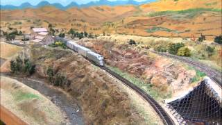 Updated N Scale Model Train Layout